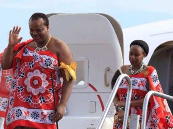 Meet King Mswati III Of Swaziland, The Monarch That Marries A Young Virgin Annually 5