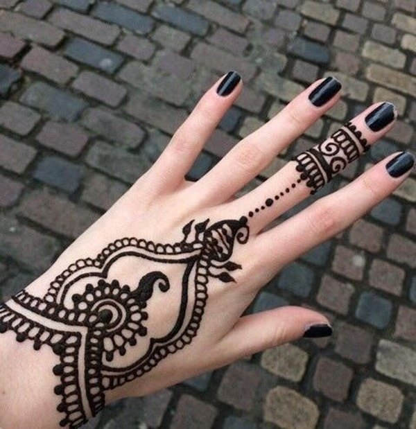 Beauty DIY: 7 Easy Ways To Make Your Own Stunning Henna Tattoos 5