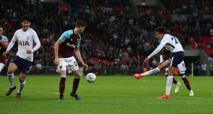 Tottenham 2 West Ham 3: Andre Ayew's Brace Saves Slaven Bilic's Job, As Hammers Stuns Spurs With Comeback Carabao Cup Win 2