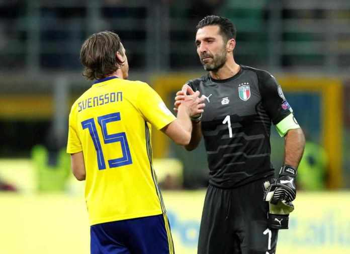 Buffon, Barzagliand de Rossi Announces Retirement, As Italy Fail To Reach World Cup 2