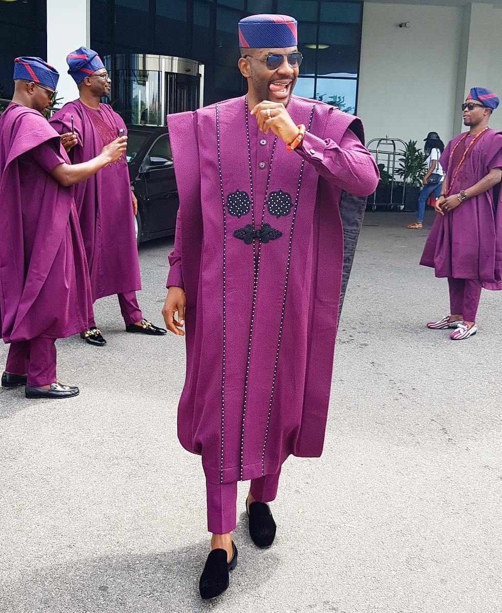 Ebuka With The Agbada! The Media Personality Is Currently The King Of TwitterNG