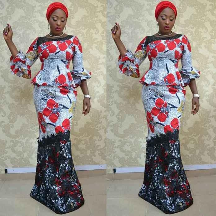 Jummah Fashion: Wearing Turbans On Your Ankara Detailed Outfits 6