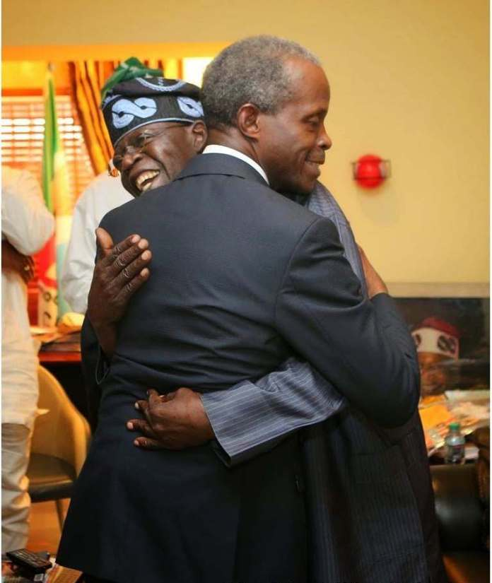 Tinubu Refutes Vice President Role Reports...Supports Osinbajo For Second Term 3