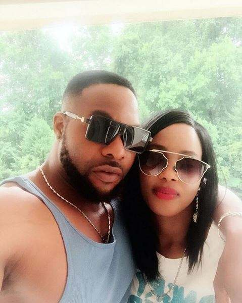 Bolanle Ninalowo And Estranged Wife Cant Seem To Get Their Hands Off Each Other 1
