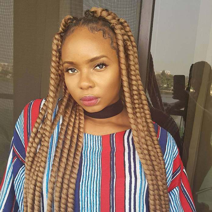10 Times Yemi Alade Oozed Natural Black Beauty Without Any Makeup 2
