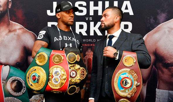 """""""I Will Knock Parker Out""""...Anthony Joshua Predicts He Will Beat Joseph Parker In Saturday's Heavyweight Clash 2"""