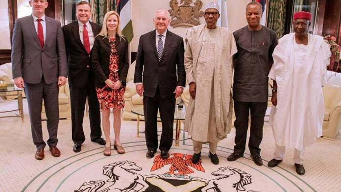 Breaking: Donald Trump Fires Rex Tillerson As Secretary Of State...Just After Meeting Buhari 3