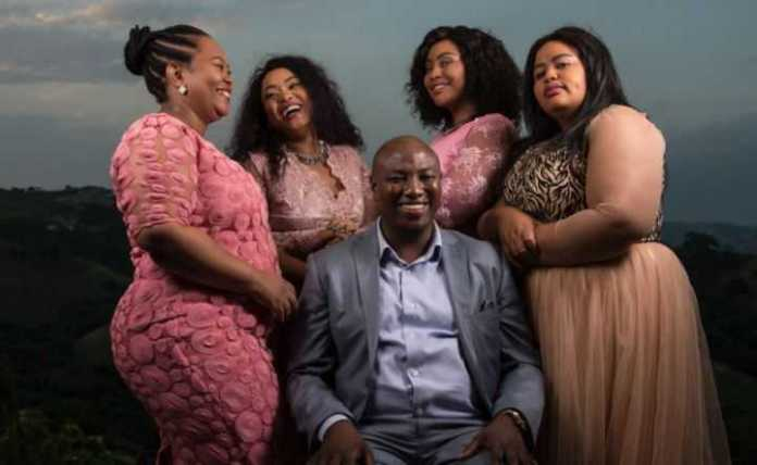 'No, We Don't Do That'...South African Polygamist Musa Mseleku Says He Doesn't Have Threesomes With His Four Wives 1