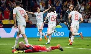 Spain 6 Argentina 1: Isco Scores Hat-trick As Messi Walks Out Watching Humiliating Trashing In Madrid  2