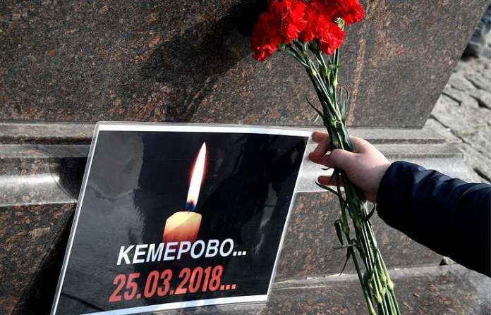 Russian President, Vladimir Putin Has Declared A Two-Day Mourning In Kemerovo After 41 Children Died In The Fire Outbreak 2