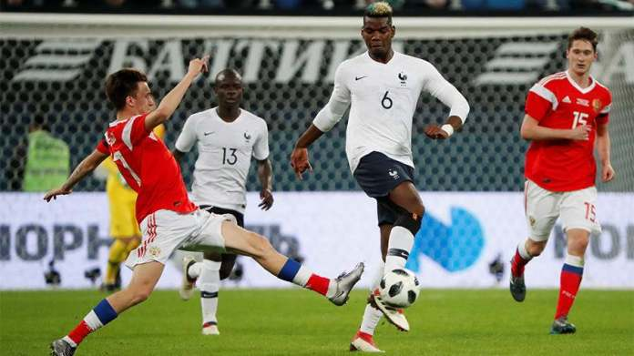 World Cup 2018: FIFA To Investigate Claims Paul Pogba and Ousmane Dembele Were Racially Abused During France Friendly With Russia 1