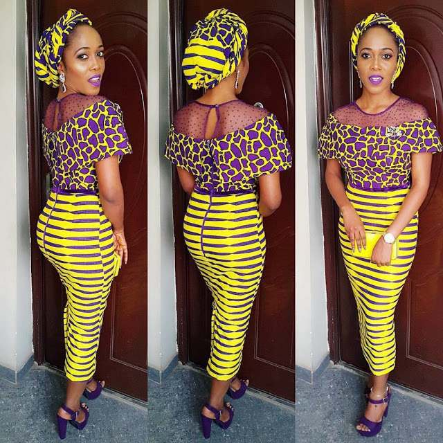 5 Modern Ways To Stylishly Mix And Fuse Your Ankara Game 1