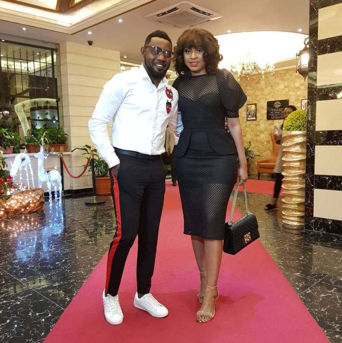 AY And Wife, Mabel Celebrates 11th Wedding Anniversary with Stunning Family Snap 1