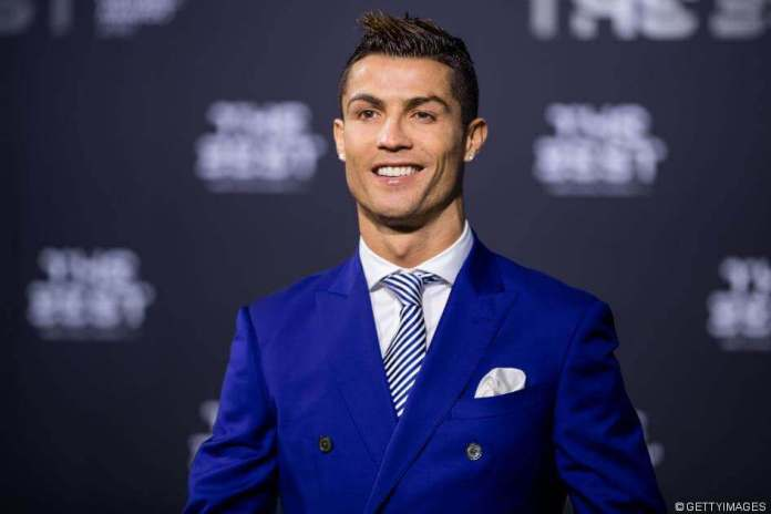 """""""Double Trouble""""- Cristiano Ronaldo Goes Shirtless To Launch New Collection 1"""