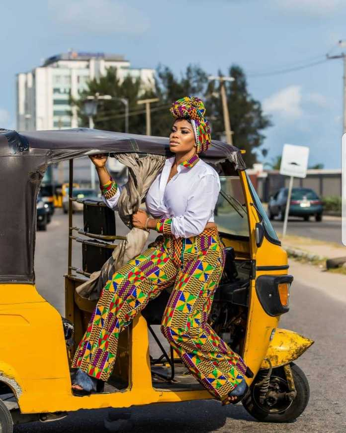 #BirthdayGirl: Ese Eriata Glows In New Colourful Pictures As She Turns A Year Older 5