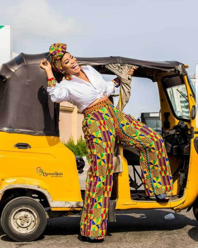 #BirthdayGirl: Ese Eriata Glows In New Colourful Pictures As She Turns A Year Older 4