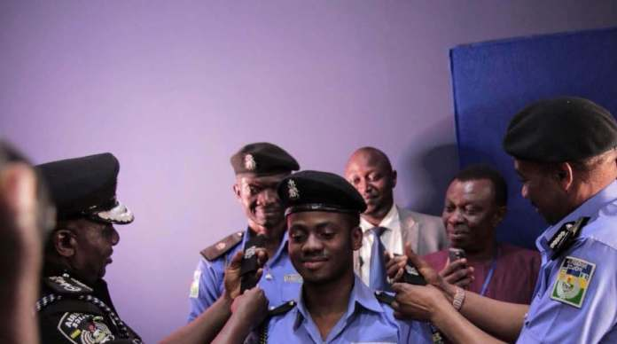 Korede Bello Decorated As Honorary Superintendent Of Police 1