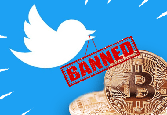 Interesting! Twitter Bans All Forms Of Cryptocurrency Adverts Over Fraud Fears 1