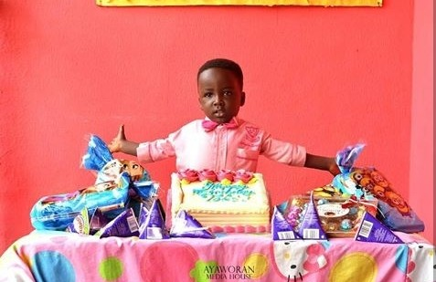 Photobomb King! Oluwatobi Michael Falana Celebrates 4th Birthday In Style 3