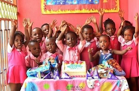 Photobomb King! Oluwatobi Michael Falana Celebrates 4th Birthday In Style 2