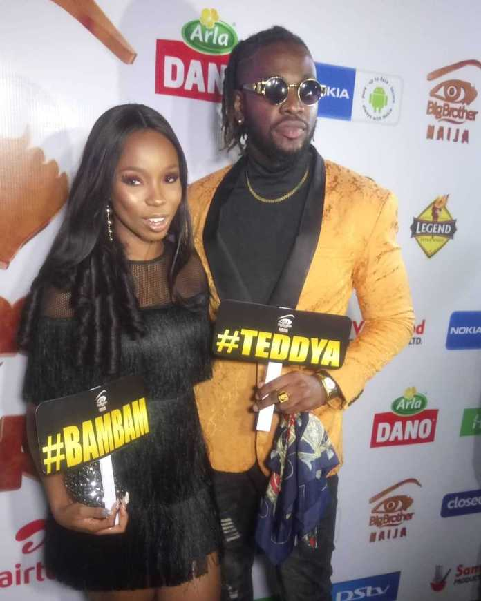 #BBNaija: BamBam And Teddy A Step Out In Style 1