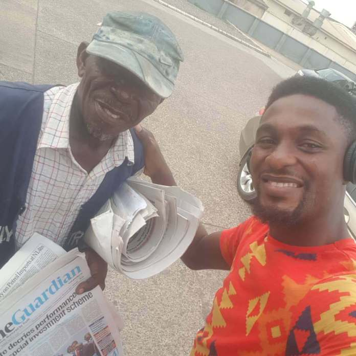Adeniyi Johnson Shares Touching Story Of How He Took A Vendor Off The Street 1