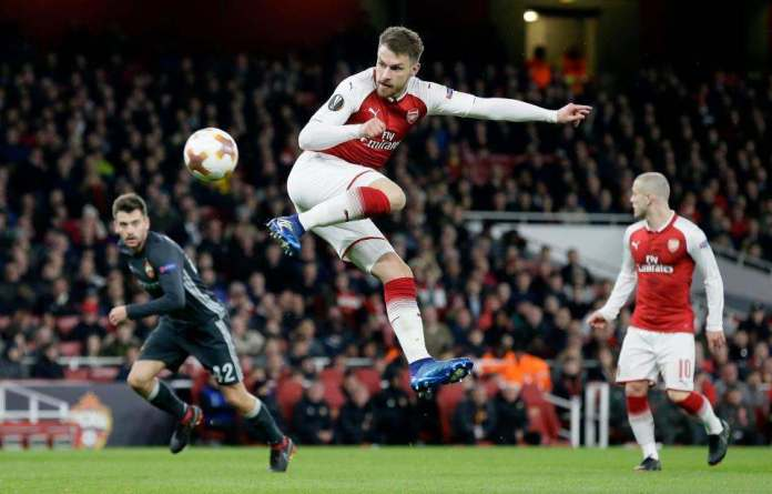 Arsenal 4 CSKA Moscow 1: Aaron Ramsey And Alexandre Lacazette Doubles Give Gunners Deserved Win 4