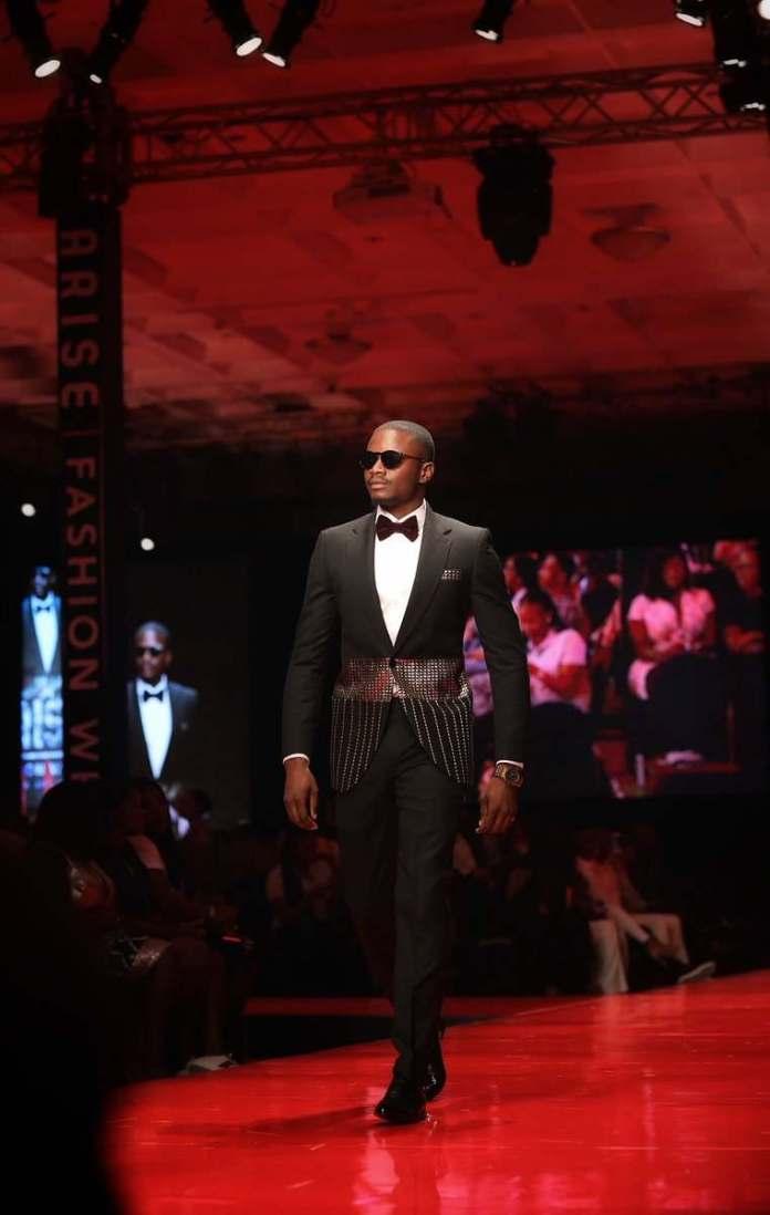 #BBNaija: Leo Debuts His Modelling Skills At The Arise Fashion Week 2018 2