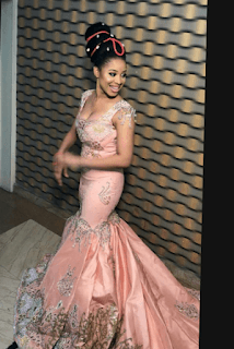 The Insider: Checkout Adorable Photos From Ex-Beauty Queen, Samantha Ubani's Traditional Wedding In Abia 4