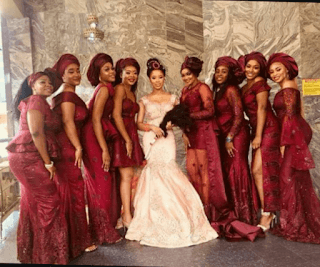The Insider: Checkout Adorable Photos From Ex-Beauty Queen, Samantha Ubani's Traditional Wedding In Abia 5