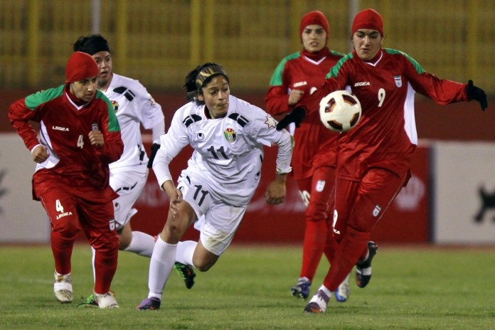 Shocking! Eight Members Of Iran's National Female Football Team Are Men 2