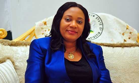 A Kind Heart! Akwa Ibom State Governor's Wife, Mrs Martha Emmanuel Builds 24 Houses For Widows 1