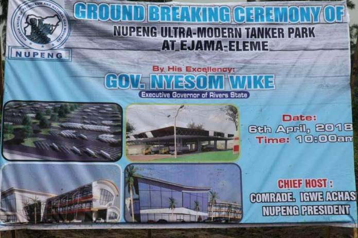 Governor Wike Commissions International Tanker Park In Rivers State 1