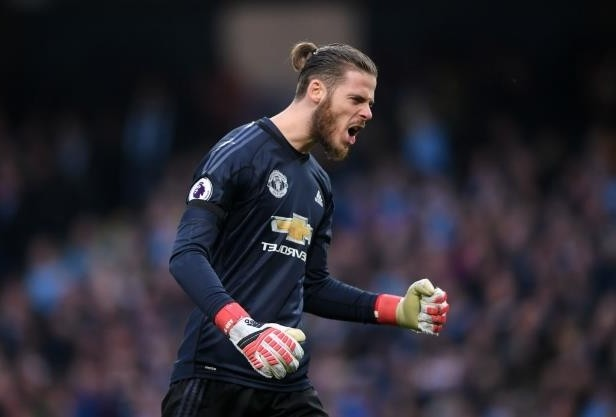 'You Are Number One!'....Paul Pogba Hails David De Gea As Manchester United Crash Manchester City Title Party 2