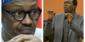 President Buhari and Reno Omokri