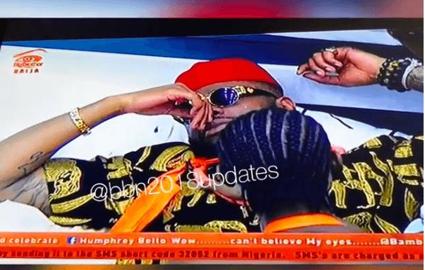 #BBNaija: Teddy A Breaks Down In Tears After Bam Bam's Eviction (Video) 2