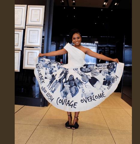 Koko's 2017 Woman Of The Year Nomzamo Mbatha's Graduation Dress Is Everything! 2