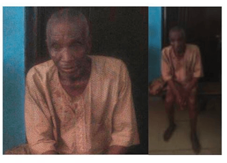 Child Abuse! 70-Year Old Arrested For raping A 13-Year Old girl 1