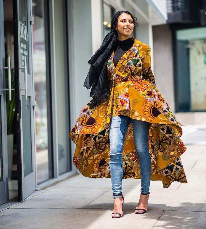 Jummah Fashion: 5 Ankara Styles To Rock With Your Hijab This Weekend 2
