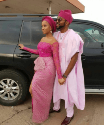 See How Banky W And Adesua Etomi Showed Up For Gabriel Afolayan's Wedding 2