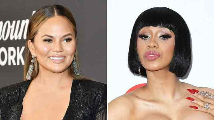 Chrissy Teigen Reacts To Cardi B's Thought Of Having A Threesome With Her And Rhanna 1