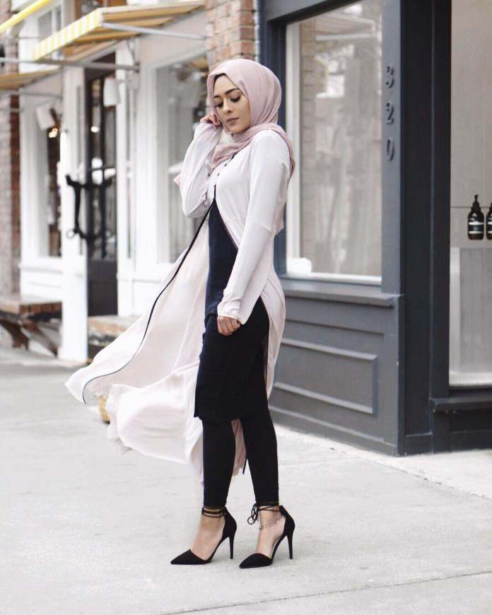 Muslimah Style: Misha Effortlessly Slays In Her Modest Attires 5