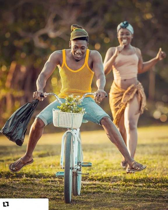 Wow! This Pre-Wedding Photos Melt Hearts With Its Creative Cultural & African Setting 4