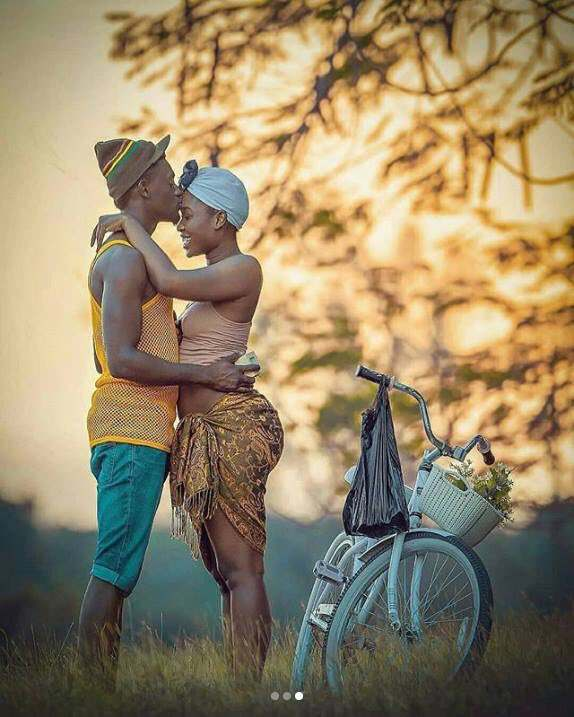 Wow! This Pre-Wedding Photos Melt Hearts With Its Creative Cultural & African Setting 3