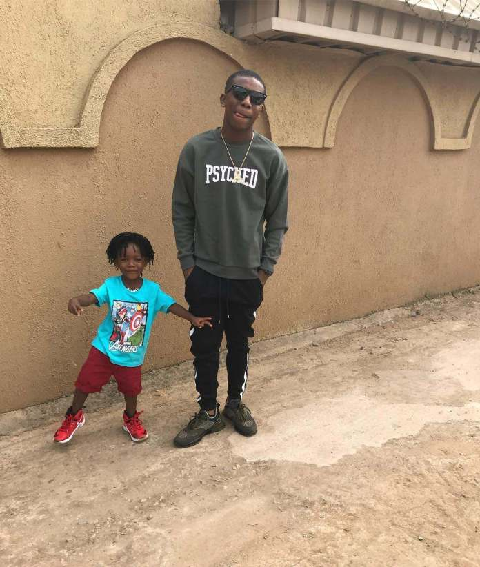 """Happiest Dude!"" Small Doctor Celebrates Son's Birthday With Adorable Photos 2"