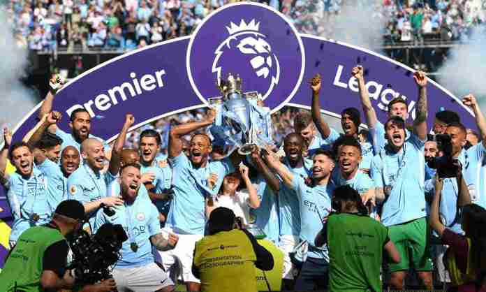 Manchester City Lift Trophy After Goalless Draw With Battling Huddersfield 2