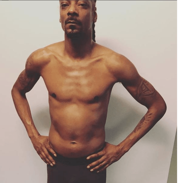 See How Snoop Dogg Shows Off Gym Result 3
