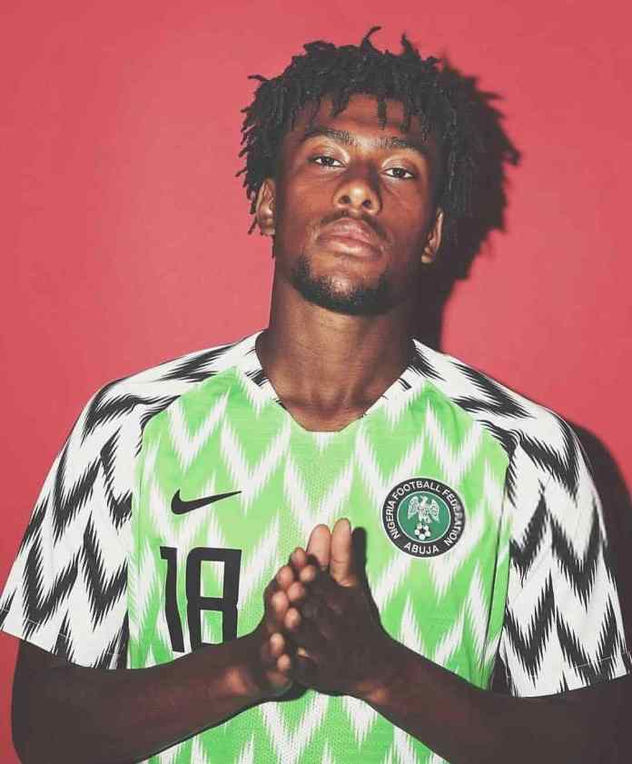 It's Official! Alex Iwobi Is Nigeria's Most Popular Football Player 2