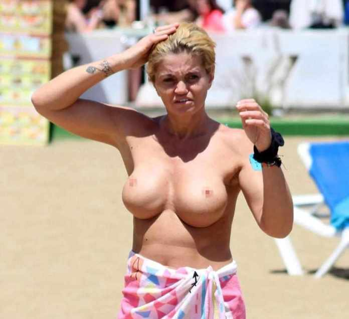 Oh No, Not Again! Danniella Westbrook Goes Topless On Holiday In Spain 3
