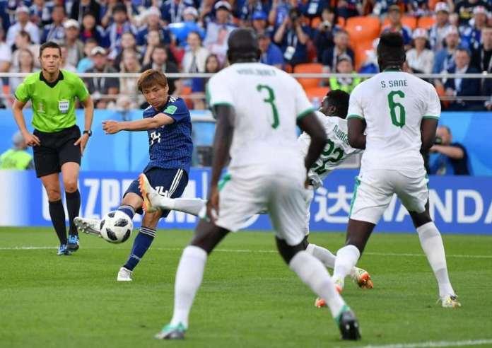Japan 2 Senegal 2: Lions of Teranga Held By Keisuke Honda's Late Strike 6